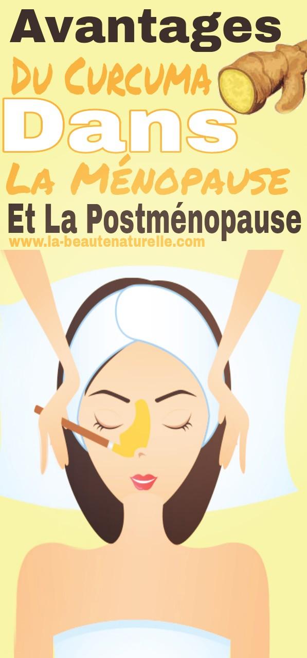 Avantages du curcuma dans la ménopause et la postménopause