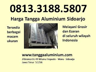 Harga tangga aluminium Sidoarjo