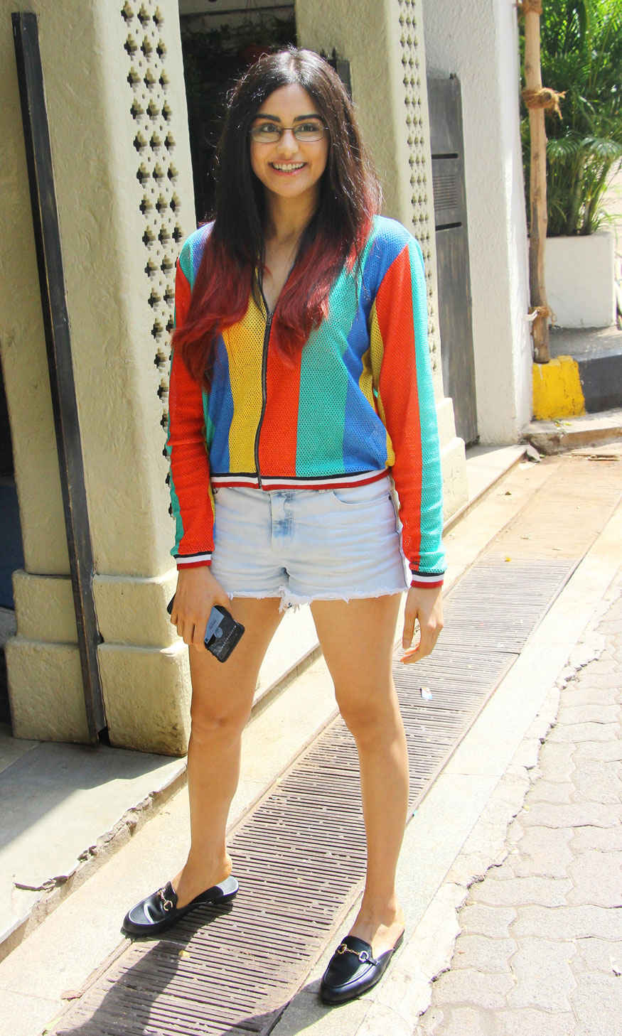Adah Sharma at Le-sutra In Bandra Mumbai