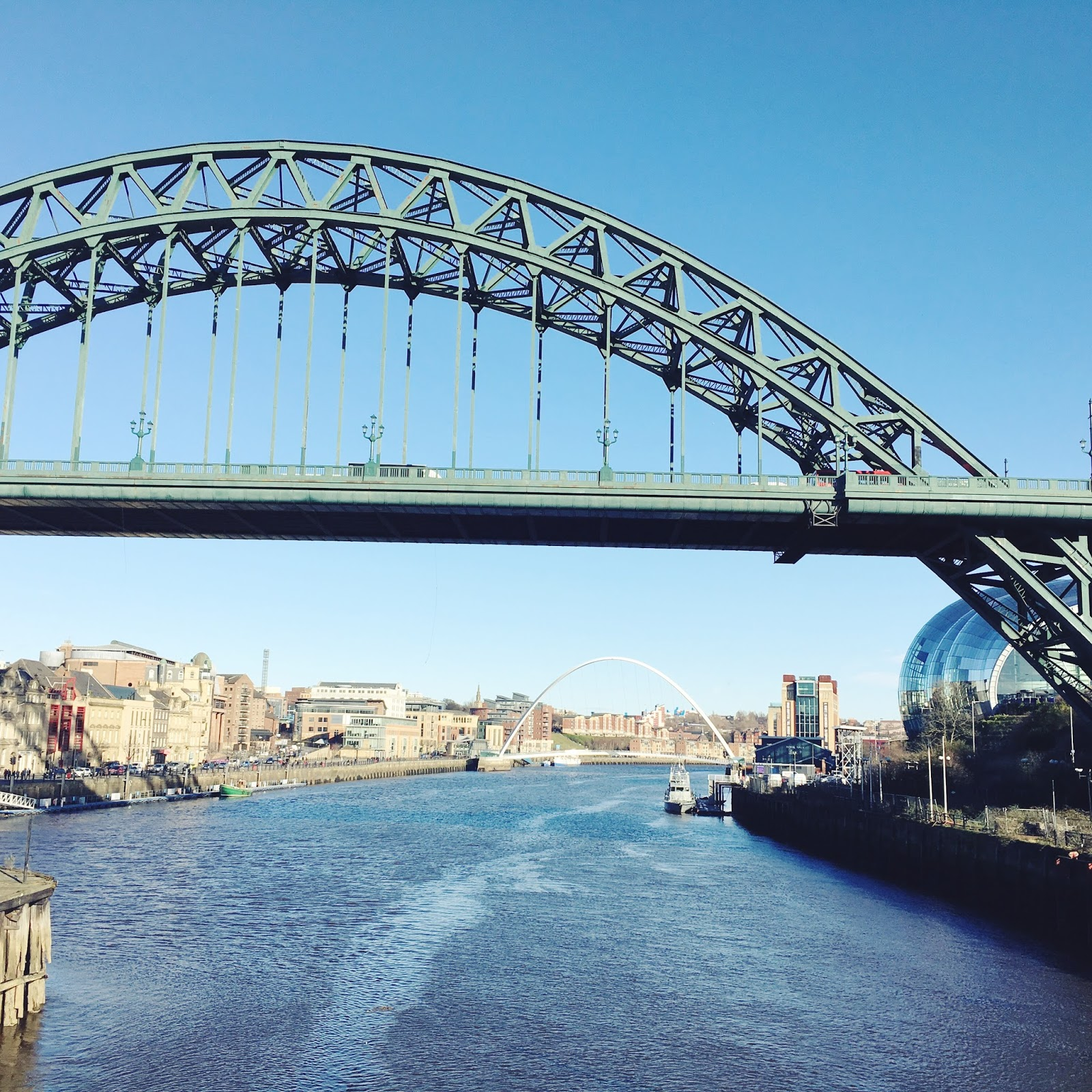 An Instagram Guide to Newcastle - Tyne Bridge