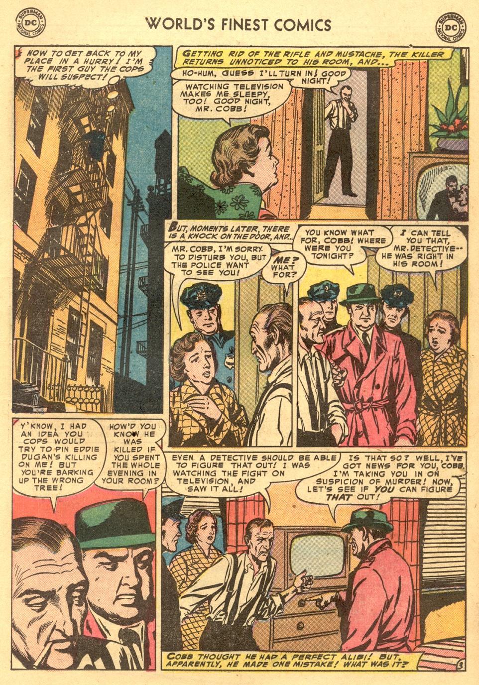 Read online World's Finest Comics comic -  Issue #70 - 19