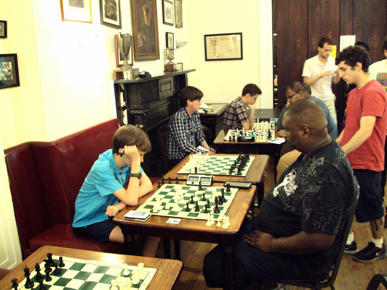 Jim West On Chess: Pix from Marshall Masters 7/15/2014