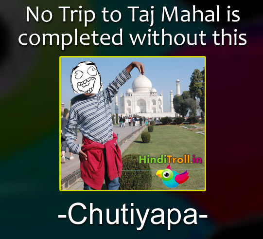 Chutiyapa In Taj Mahal Funny Picrture | Indian Desi People Funny Picture In Taj Mahal | Taj Mahal Troll