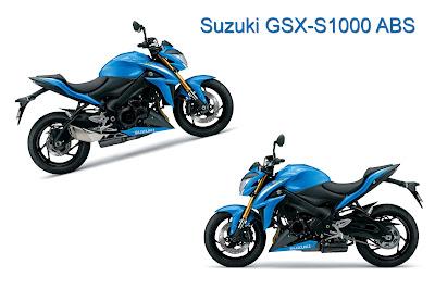 Suzuki GSX-S1000 Two angle naked sportbike