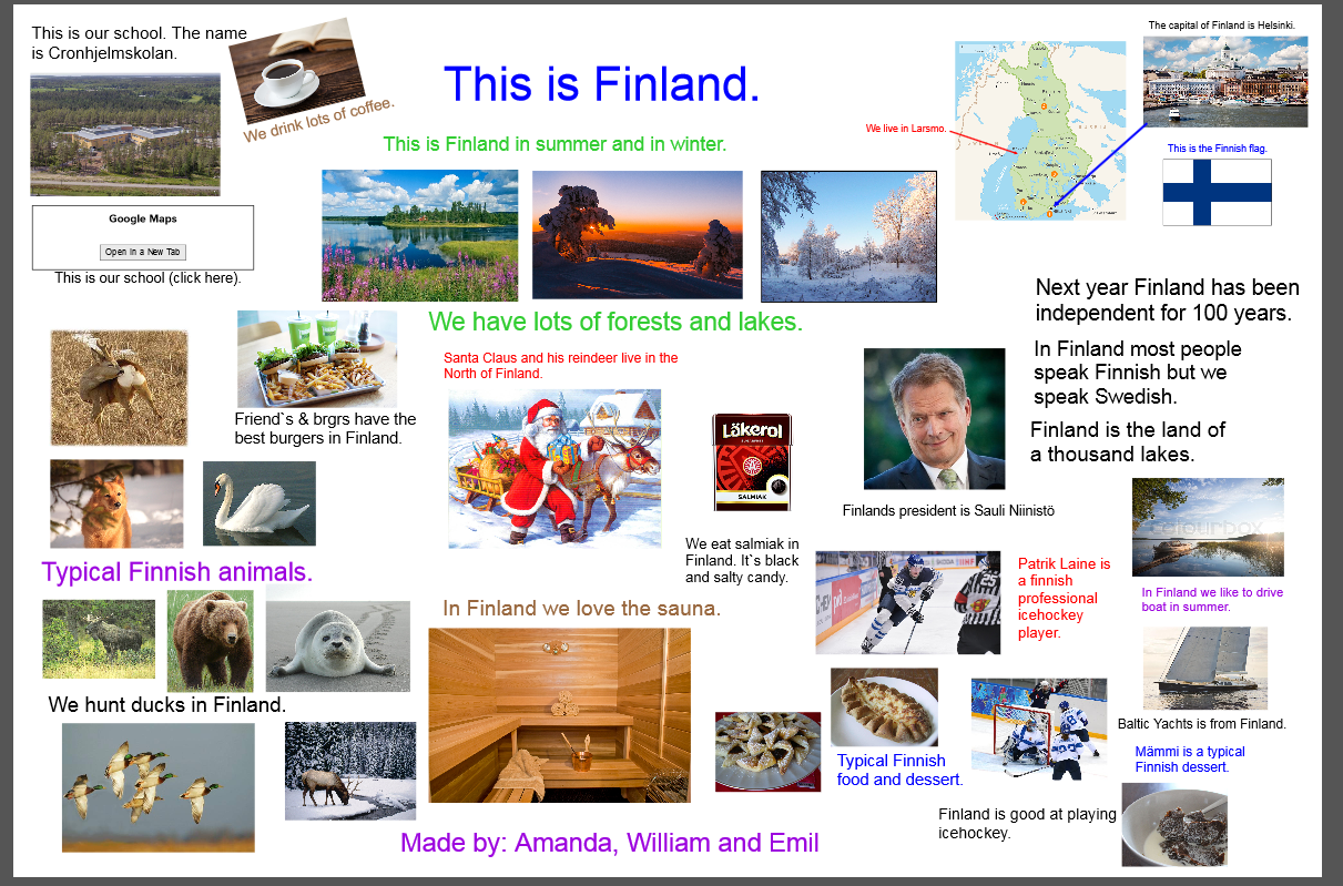 Bridging Cultures Greetings From Finland