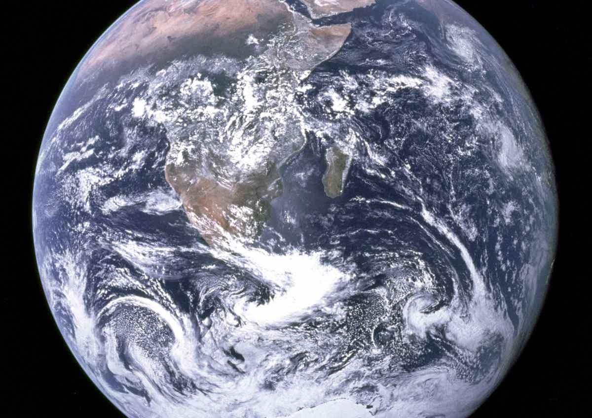 La tierra, un geoide