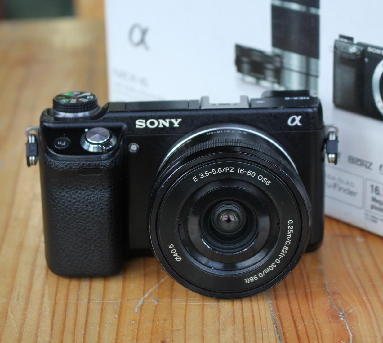 Jual Sony Nex 6 Bekas Lensa Fullset