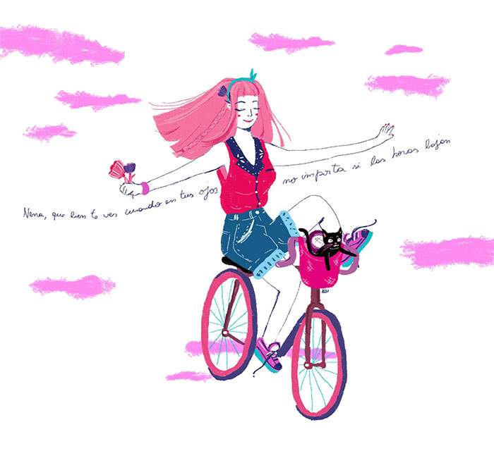 EnBiciArte. Bicicleta de Paula Barbaro