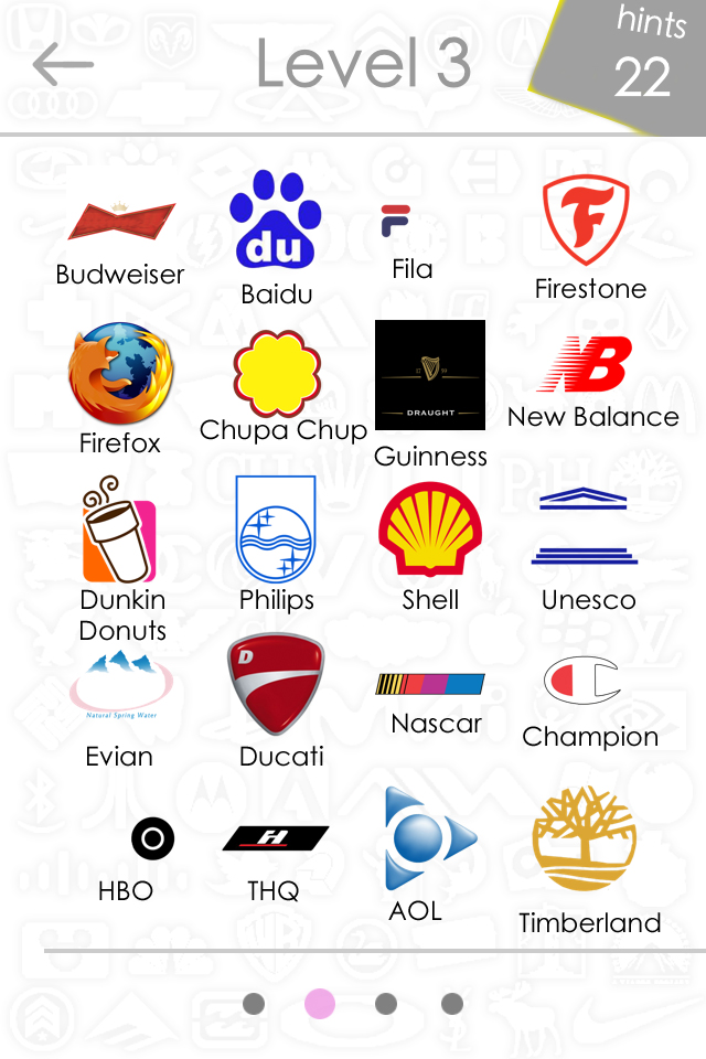 Madison : Logo game answers level 44