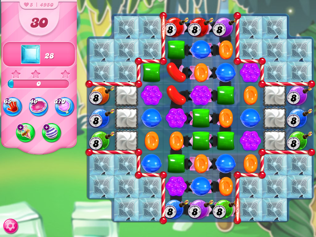 Candy Crush Saga level 4950