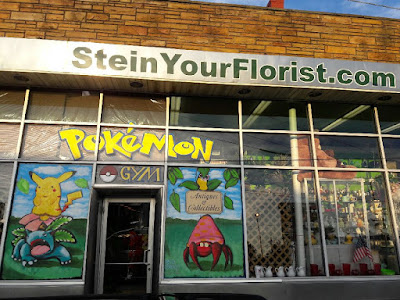 Stein Your Florist Co. Pokemon Go Gym