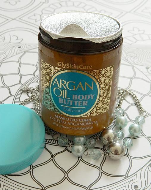 argan oil body butter