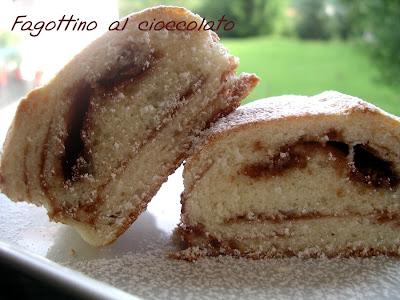 la ricetta Merendina soffice fagottino al cioccolato