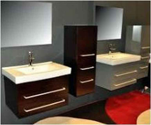 Wood Bathroom Vanities Miami BV UP100