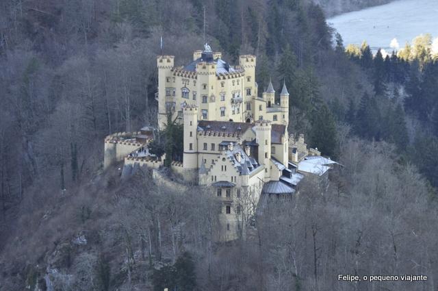 Castelo de Hohenschwangau, em Füssen