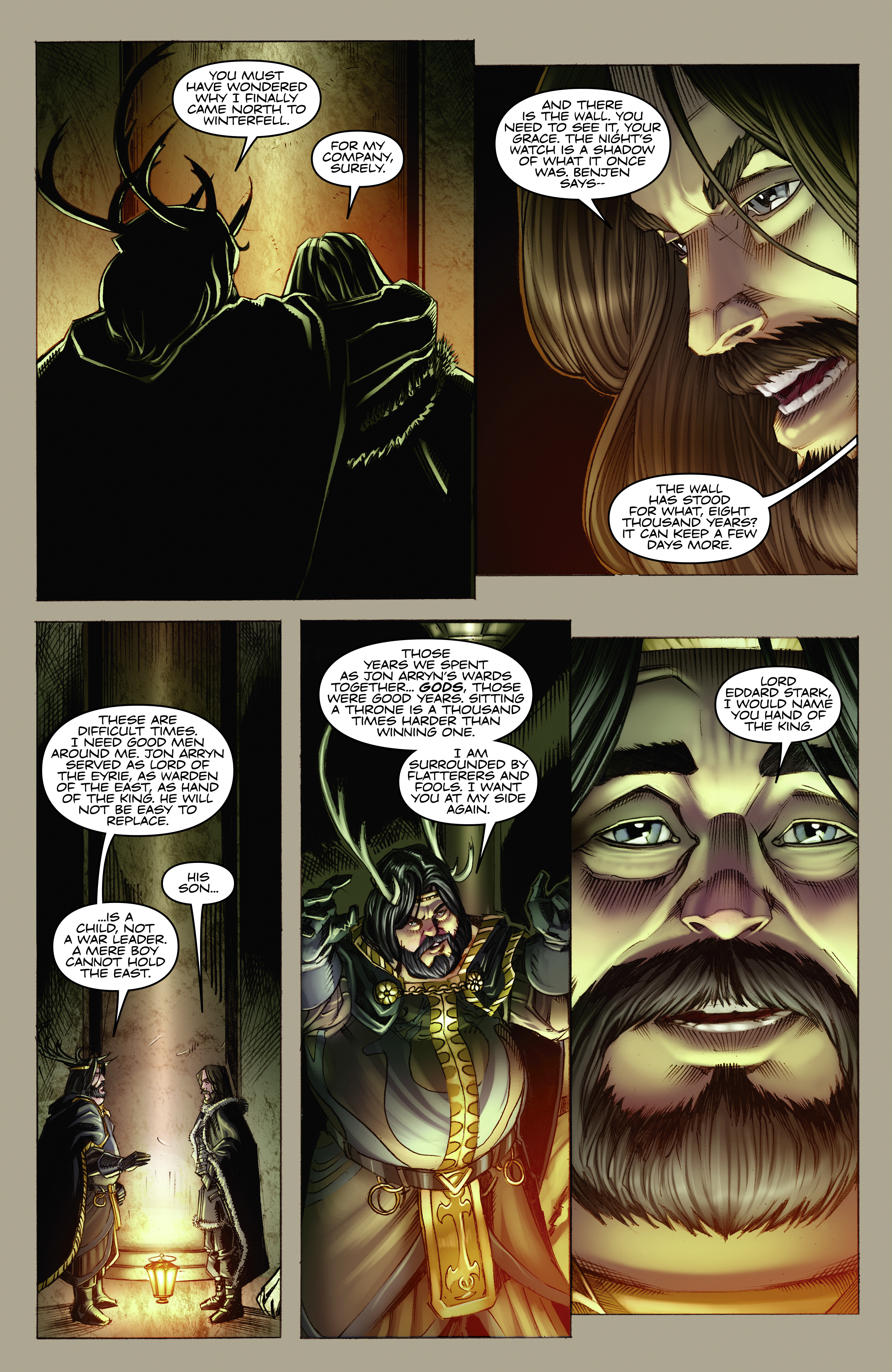 Read online A Game Of Thrones comic -  Issue #2 - 9