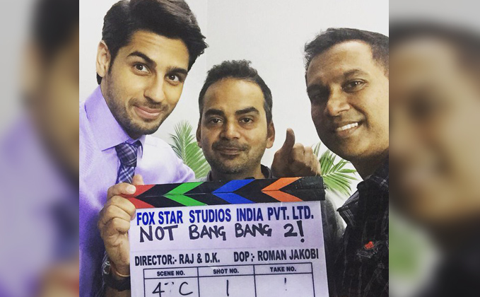 Jacqueline Fernandez, Sidharth Malhotra New Upcoming hindi movie Bang Bang 2 Poster, release date