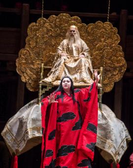 Puccini: Turandot - Robin Leggate and Christine Goerke - © Tristram Kenton | ROH