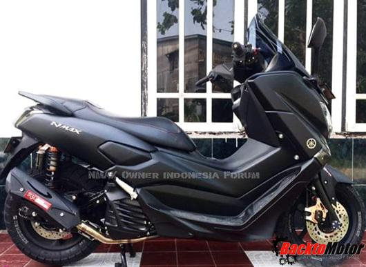 Top yamaha nmax hitam modifikasi