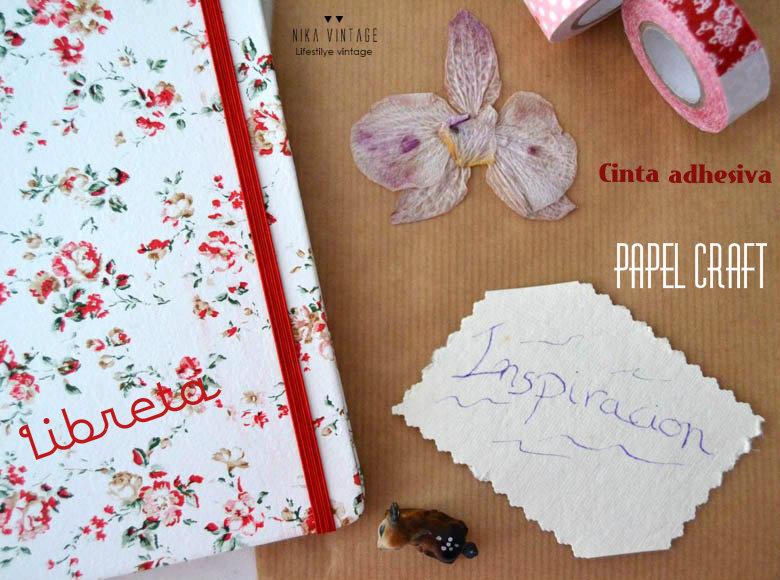 diy, hazlo tu mismo, handmade, libreta, papel craft, tuneo