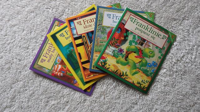 franklin-biblioteka-przedszkolaka-żółw-bałaganiarz-pospiesz-boi-ciemnosci