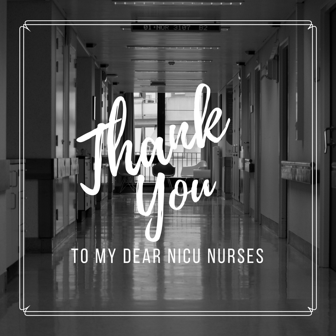 to my dear nice nurses