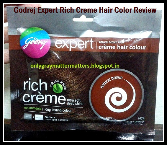 Godrej Expert Rich Creme Hair Colour Review Natural Brown