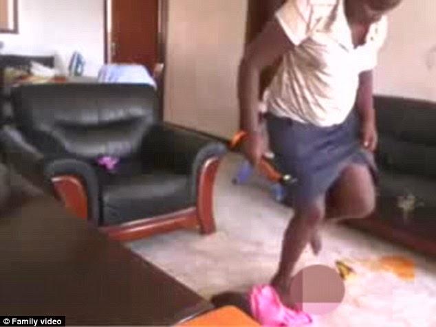 Afrička dadilja uhvacena:stravican zlocin nad djetetom