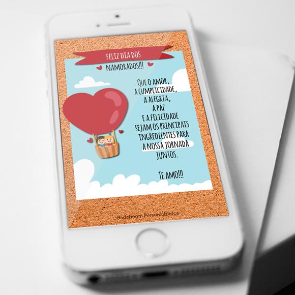 Cartão Virtual Dia dos Namorados Free 03