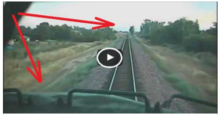أصطدام قطارين وجه لوجه، حادث صعب جدآ...!!!