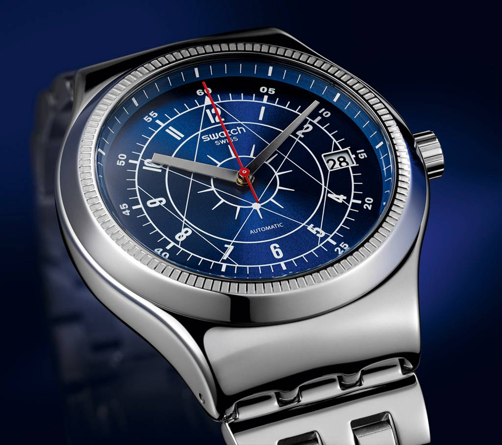 Swatch irony sistem51 winter 2016 new releases time and watches for Winter watches
