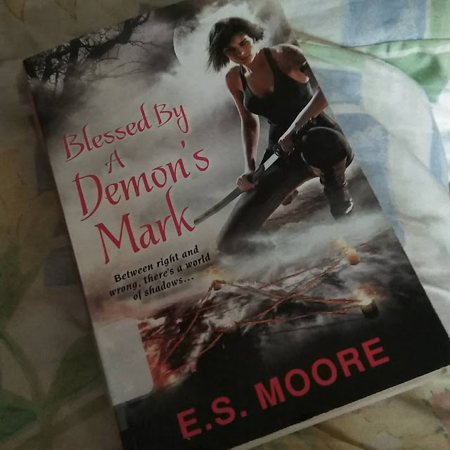 Blessed by a Demon's Mark by E. S. Moore