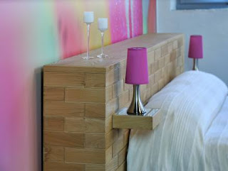 cama con cabecera original