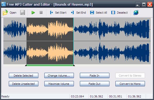 Free MP3 Cutter and Editor 2.8 - Εύκολη επεξεργασία MP3 αρχείων