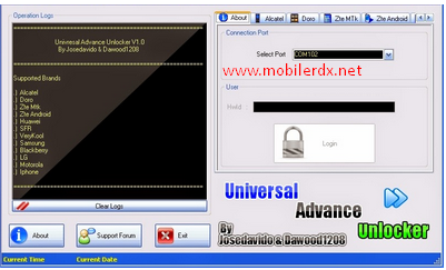 Universal Advance Unlocker Software 2017 Free Download