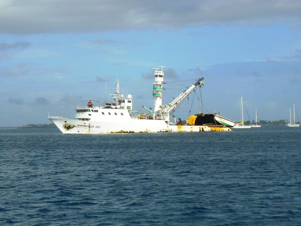 Tuna Fishing Boat