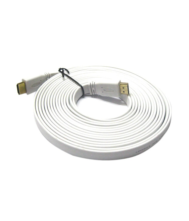 WE SUPPLY WHAT YOU NEED: 5 Meter Flat HDMI To HDMI 1.4V