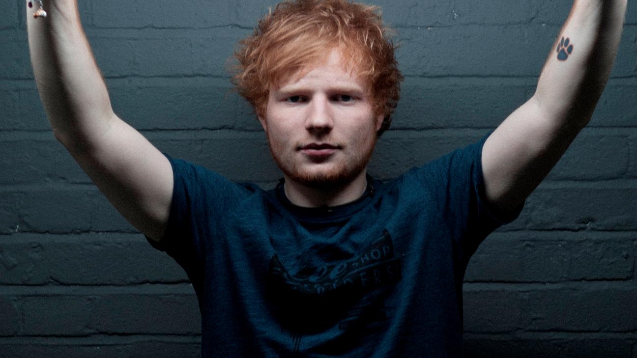 """Ainda sem título definido, a música será o primeiro single do britânico com seu novo álbum, """"÷""""."""