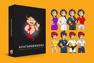 Bikin Avatar Genie Pro dan Maskot Professional