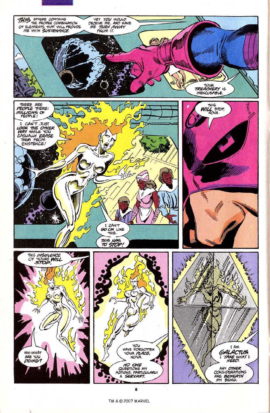 Read online Silver Surfer (1987) comic -  Issue #70 - 10