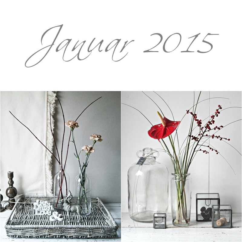 Blog + Fotografie by it's me! - Collage Friday Flowerday - Januar 2015