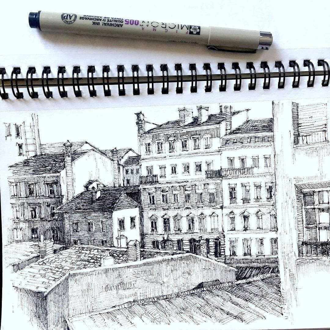 08-Asmik-Babaian-Асмик-Бабаян-Rustic-Architectural-Urban-Sketches-www-designstack-co
