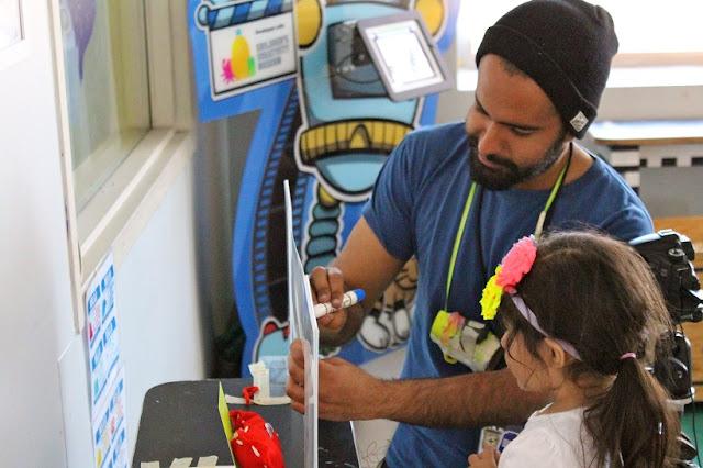 Informações sobre o Children's Creativity Museum em San Francisco