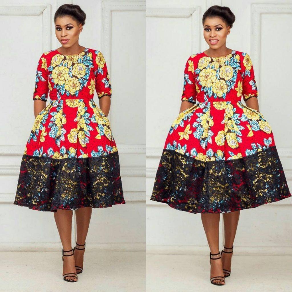 Lace short dress styles in nigeria  timven amina timvenamina on Pinterest