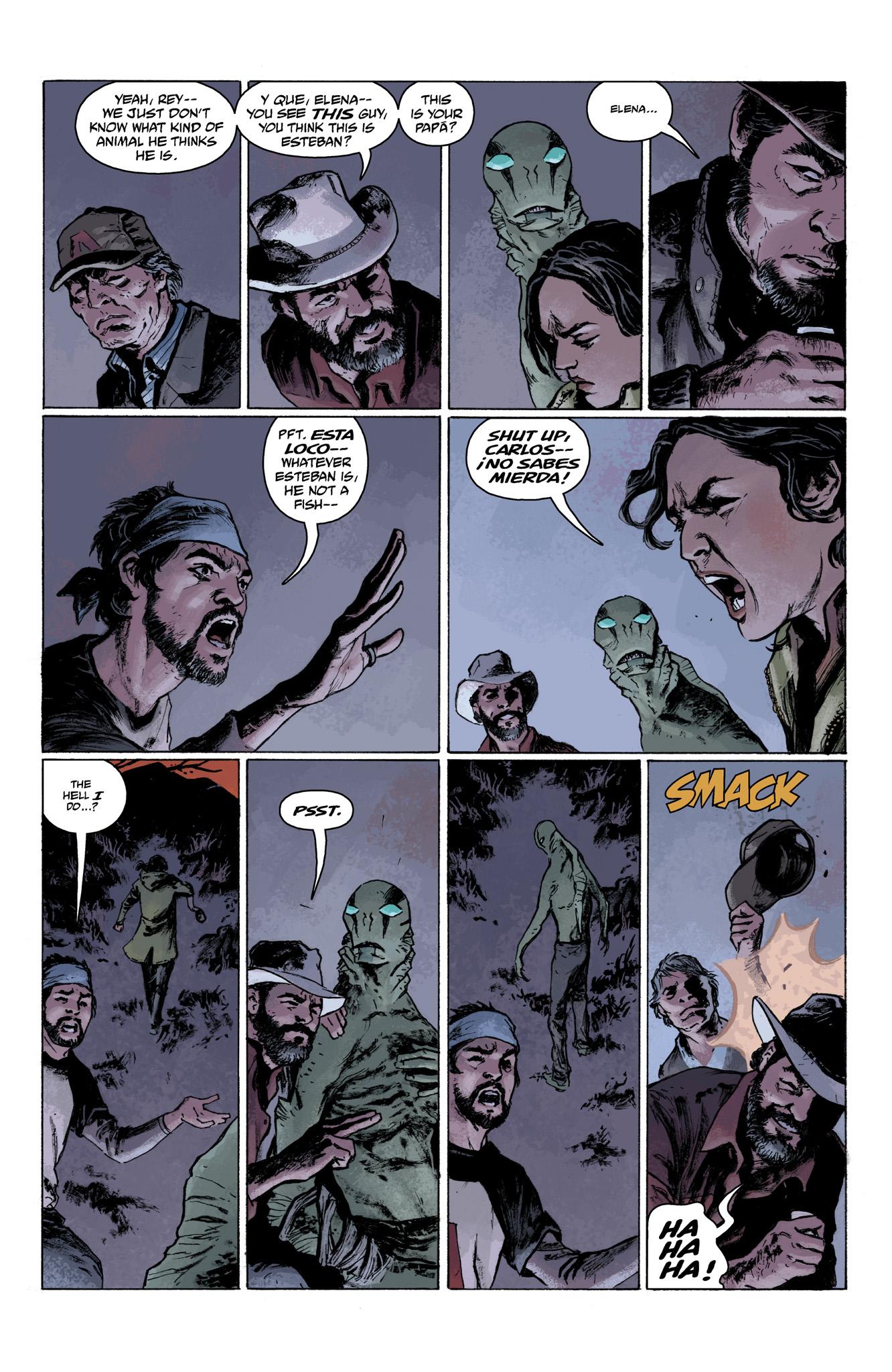 Read online Abe Sapien comic -  Issue #6 - 9