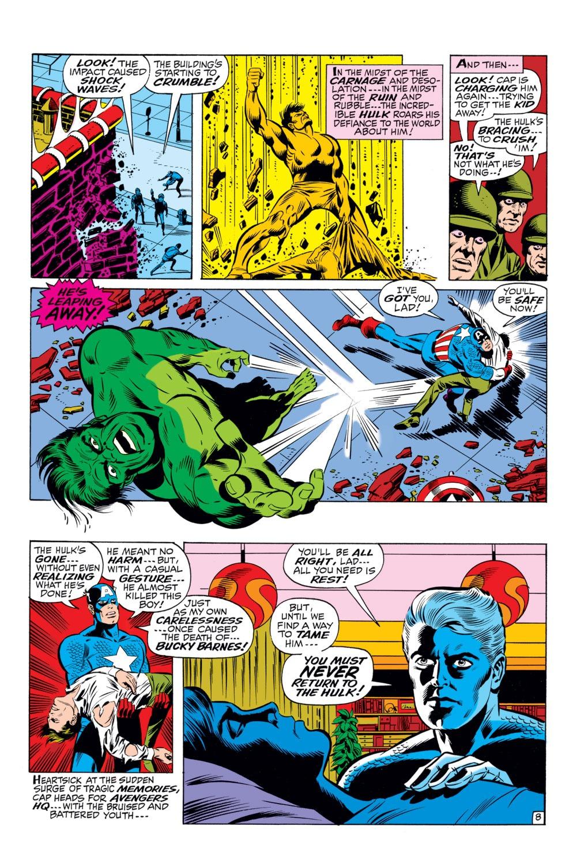 Read online Captain America (1968) comic -  Issue #110 - 9