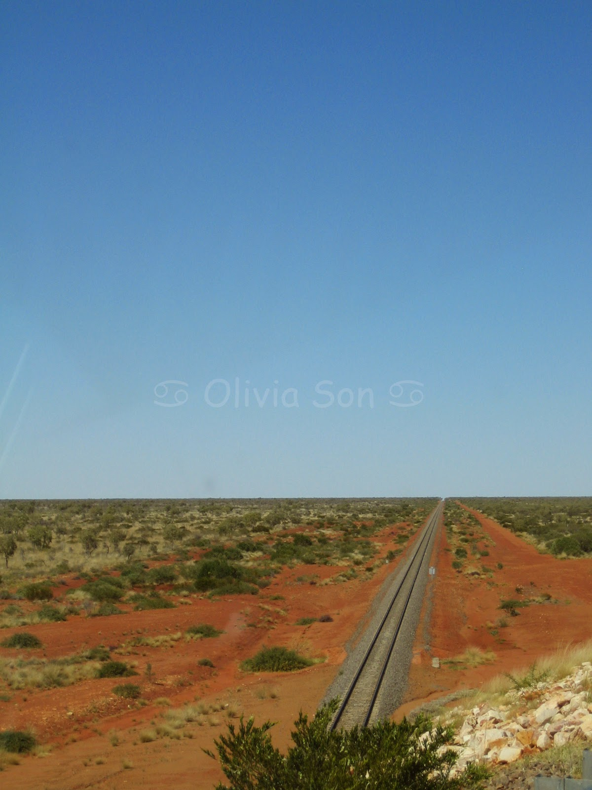The Ghan, Northern Territory, Australie