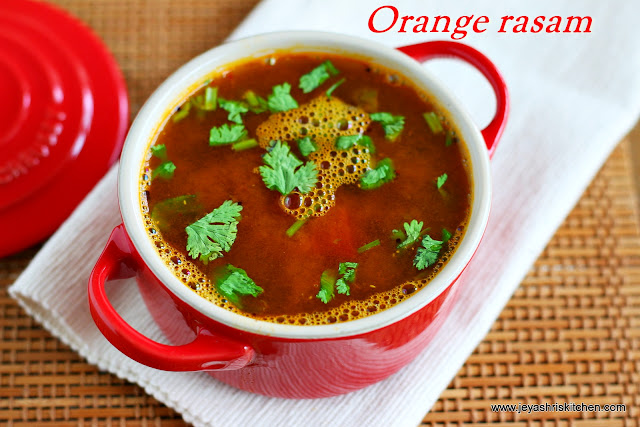 Orange rasam