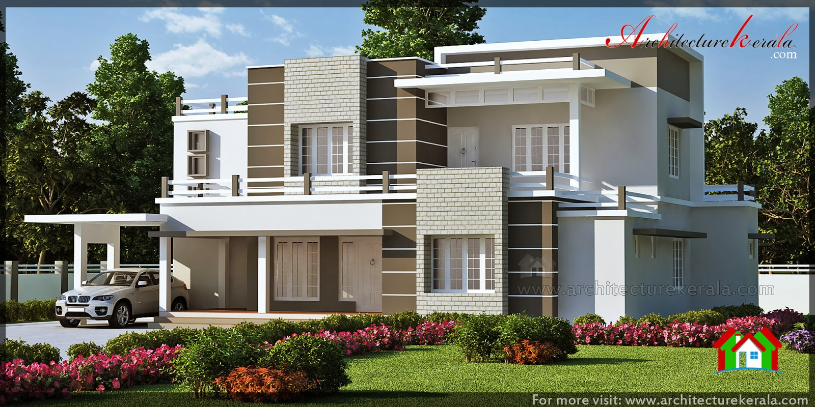 Front Elevation Of Houses In Kerala : Architecture kerala