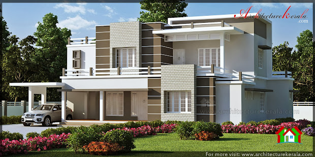 Modern Kerala House Elevation Designs